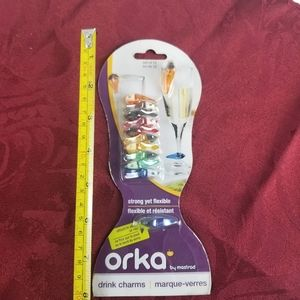 SALE 3/25 Orka Drink Charms by Mastrad  3/25